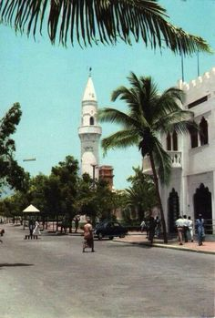 Muqadii`shuu (Jumhuuriyyah' a-Shshuumaal al-Fiidiraaliyyah', Bilaad al-Barbar) (1382s H Photograph) #FederalRepublicofSomalia #Africa #Mogadishu