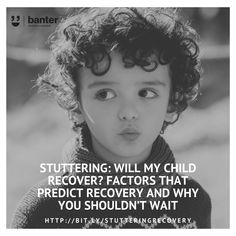 Today is International Stuttering Awareness Day. About of children stutter at some point during early childhood. We often get asked by parents if their child will recover and what factors predict recovery. Different Sentences, Simple Sentences, Speech Language Pathology, Speech And Language, White Matter, Language Development, Early Literacy, Bad News, My Children