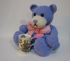 Bear Tea Cozy by knitvanaclose