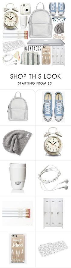 """Rule School: Cool Backpacks"" by piedraandjesus ❤ liked on Polyvore featuring New Look, Converse, Fuji, Newgate, Samsung, Casetify, Devicewear, Sharpie, backpacks and contestentry"