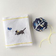 新商品は自分で作れる刺繍道具♪ニードルブックとピンクッション……と定番のブローチキットも | net store ~アンナとラパン