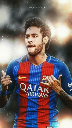 Neymar once upon a time when he was at FC Barcelona ! Neymar E Messi, Lionel Messi, Messi Soccer, Football Is Life, Sport Football, Football Players, Iran National Football Team, Brazilian Soccer Players, Messi Tattoo