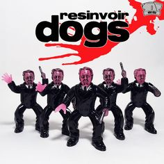 """""""Resinvoir Dogs: M.R. Pink"""" resin figure from 'Scraped Resin'!!!"""