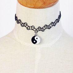 Gothic Retro Braided Fish Line Elastic Colar Necklace Pendant Necklaces Jewelry Gift