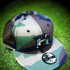 Hawaii Football Fitted Hat - Camouflage