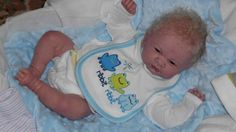 Custom Reborn Doll Berenguer Preemie Baby Boy Full Limbs Mohair 15 Inches | eBay