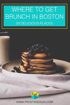 Boston does not disappoint when it comes to brunch. From super fancy to greasy diners, check out 20 delicious places to get brunch in Boston. Brunch Places, Brunch Spots, Boston Food, In Boston, Boston Travel Guide, Boston Vacation, Voyage Usa, East Coast Travel, Boston Things To Do