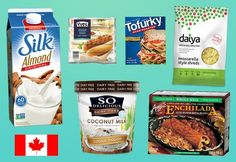 Check out our list of the mouthwatering mock meats and nondairy delights available in Canadian grocery store chains.