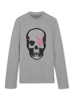PLAYBOY Lucien Pellat-Finet Skull sweatshirt