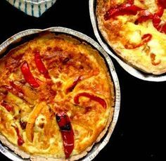 This Red Pepper and Goat Cheese Tart is easy to make and is our #RecipeOfTheWeek