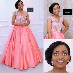 Ankara Styles by Mawuli African Bridal Dress, African Print Wedding Dress, African Dresses For Women, African Print Dresses, Fancy Wedding Dresses, Short Bridesmaid Dresses, Elegant Dresses, Bridal Dresses, Bridesmaids
