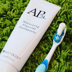 My morning starts with this amazing toothpaste and my evening ends with the same amazing toothpaste ^_^ - zahnpasta Ap 24 Whitening Toothpaste, Best Teeth Whitening, Nu Skin, Teeth Care, Skin Care, Limpieza Natural, Stained Teeth, Best Skincare Products, Oral Hygiene