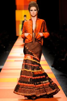 Jean Paul Gaultier Spring 2013 Couture - Review - Fashion Week - Runway, Fashion Shows and Collections - Vogue - Vogue