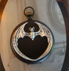 GOTHIC Locket STEAMPUNK VAMPIRE Poison Vessel by ParadiseFindings, $24.99