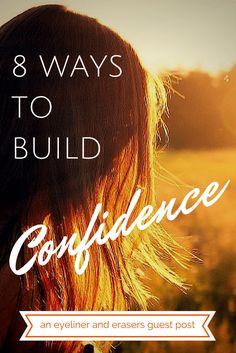 8 Ways to Build Confidence