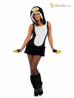 Adult sexy #penguin costume #ladies christmas fancy dress animal bird #outfit 8- ,  View more on the LINK: 	http://www.zeppy.io/product/gb/2/182129574063/