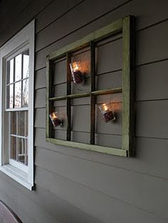 mason jars, cranberries & tea lights hanging from old window outdoor holiday decor.mason jars, cranberries & tea lights hanging from old window Decor, Outdoor Holidays, Windows, Outdoor Holiday Decor, Porch Decorating, Old Window Decor, Home Decor, Frame Decor, Holiday Decor
