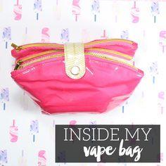 inside my vape bag Premium e liquids at budget prices from singularity vaped