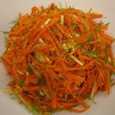 carrot fennel salad with ginger horseradish dressing more recipe salad ...