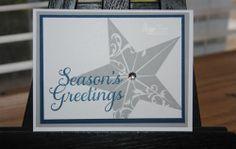 New Christmas Star Single Stamp!!