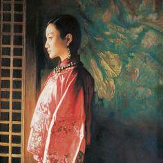 Chen Hongqing  #chenhongqing #artandfashion #art #china #orientalart #inspiration #pleasebehappy #beauty #beautywillsavetheworld #artwillhelpus