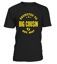 9a208d5da Promoted To Big Cousin 2017 T-Shirt ...
