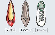 ハマる。 ストレート骨格の人が似合う靴