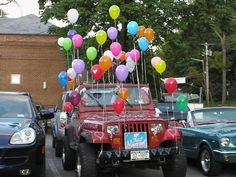 I will have to start working on Shawn now to let me do this to his jeep.lol I will have to start working on Shawn now to let me do this to his jeep.lol I will have to start working on Shawn now to let me do this to his jeep.lol I will have to … 16th Birthday, Diy Birthday, Birthday Gifts, Birthday Cakes, Happy Birthday, Funny Birthday Pranks, Funny Car Pranks, Yard Pranks, Gifts