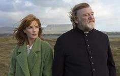 """Kelly Reilly and Brendan Gleeson in John Michael McDonagh's Calvary 