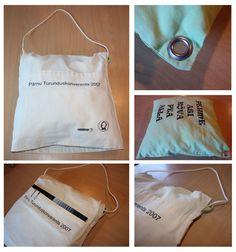 Vahva ja praktiline kott-padi konverentsil osalejatele: kotis saab hoida konverentsimaterjale, pausi ajal võib mõnusal padjal tukastada. http://www.stillabunt.ee/