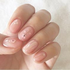 AD - Online Shopping for Popular Electronics Fashion Home Garden Toys Sports Automobiles and More - Natural nails Cute Nails, Pretty Nails, Hair And Nails, My Nails, Dark Nails, Bling Nails, Stiletto Nails, Korean Nails, Korean Nail Art