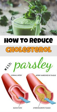 How to reduce cholesterol with parsley - BeautyZone.info