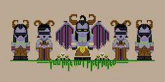 Illidan and Demon Hunters - Warcraft - PixelPower - Amazing Cross-Stitch Patterns http://www.pixelpowerdesign.com/shop/video-games/product/show/473-illidan-and-demon-hunters-warcraft