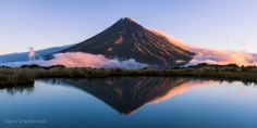 Taranaki reflection by Davis Drazdovskis on 500px