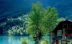 Google+ House Near Water, Cabin, House Styles, Google, Home, Cabins, Ad Home, Cottage, Homes