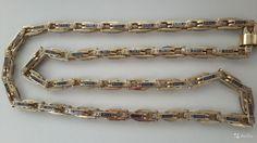 Новая эксклюзивная золотая цепь 585 пробы плетение Барака от известного московского ювелирного завода. Возможна табличка бара...