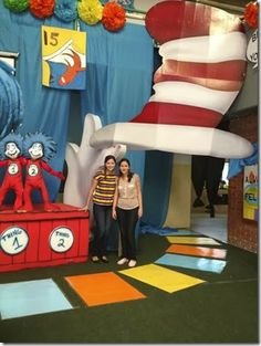 Dr. Seuss Party - huge decoration ideas