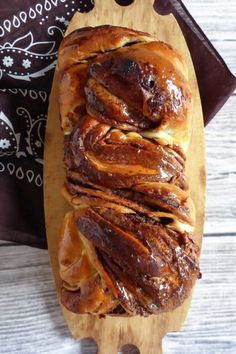 his glorious homemade Nutella babka is made from scratch with spelt flour. The sweet dough is made in a bread machine and is filled with rich Nutella.