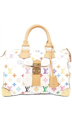 Louis Vuitton Multicolor Tote l Vaunte LOL I remember this print from high school !