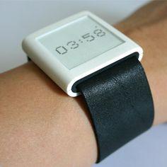 Sputnik watch Design: Vadim Kibardin reading a clock is for the birds....digital is nice! lol