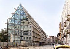 herzog & de meuron-designed fondazione feltrinelli set to open in milan