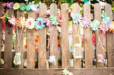 "Inspiration for a fun ""outdoor room"" this spring! This is from a wedding, but the whimsy is perfect for kids too."