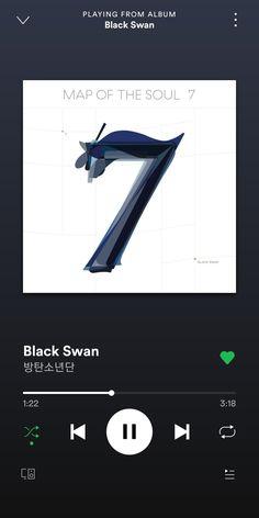 Black Swan, a song by BTS on Spotify Swan Wallpaper, Bts Wallpaper Lyrics, Musica Spotify, K Pop, Bts Twt, Swan Song, Mood Songs, Spotify Playlist, I Love Bts