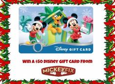 Win+a+$50+Disney+Gift+Card+Just+In+Time+for+Black+Friday!