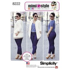 Sew Comfortable Stretch Jeans - A Free Weekly Sew-along with MimiG Style!