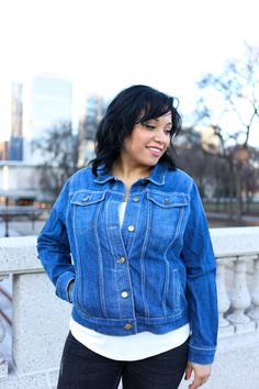 Hampton Jean Jacket Sewing Pattern | Alina Sewing + Design Co.