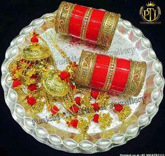 100% True New Bridal Chudi Set Designer Jewellery Suhag Women Orange Colour Bangles Bridal & Wedding Party Jewelry Engagement & Wedding