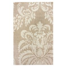 This lovely lvory Rug is called Allie ~ on Joss & Main.  Size 7'6'' x 9'6'' is $338.95
