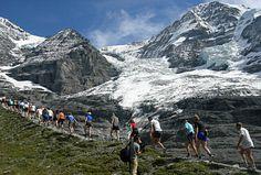 I will do this race...someday! Jungfrau Marathon in Switzerland.