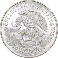 Mexico Olympics 1968 25 Peso